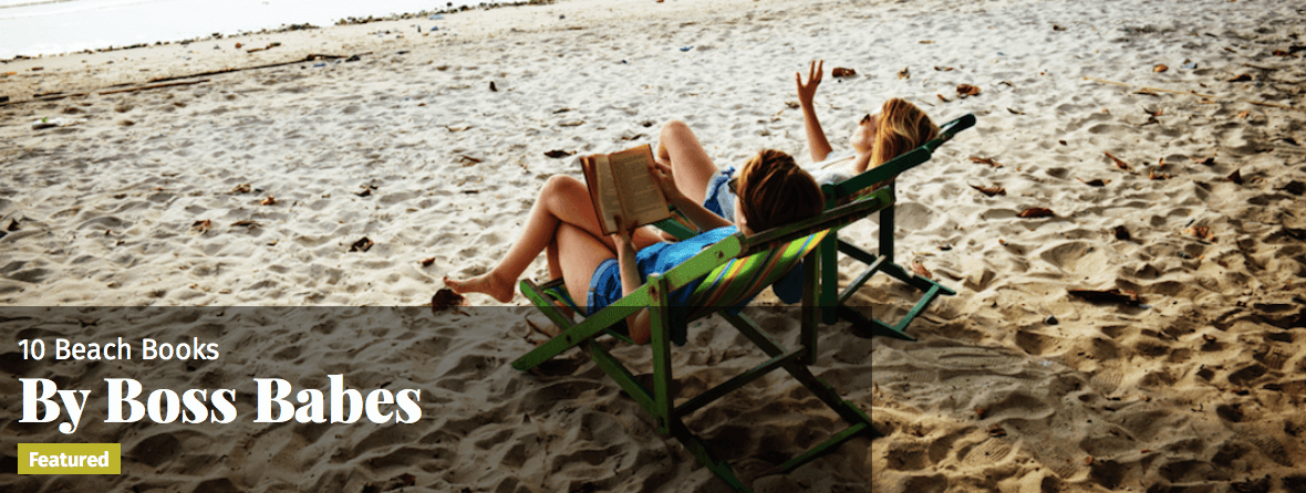 10 Beach Books by Boss Babes