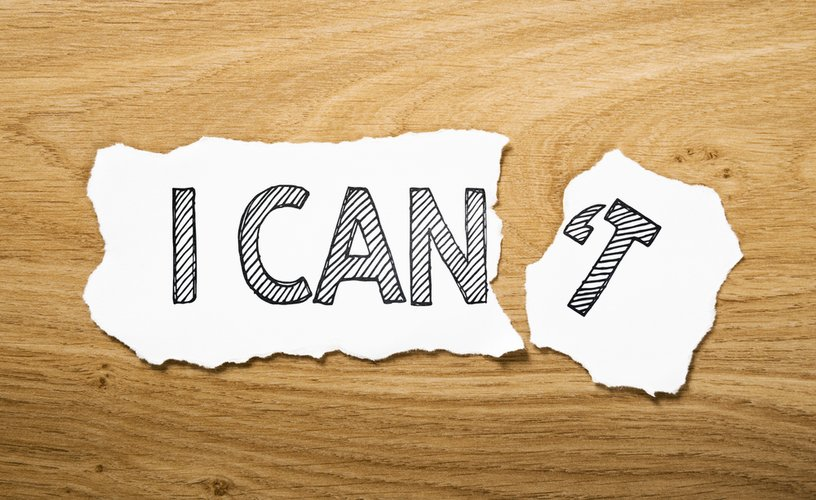 I can do this! Confidence