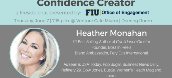FIU Fireside Chat with #1 Best Selling Author Heather Monahan