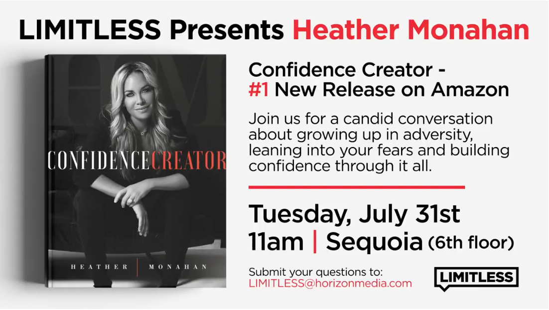 Limitless Presents Confidence Creator