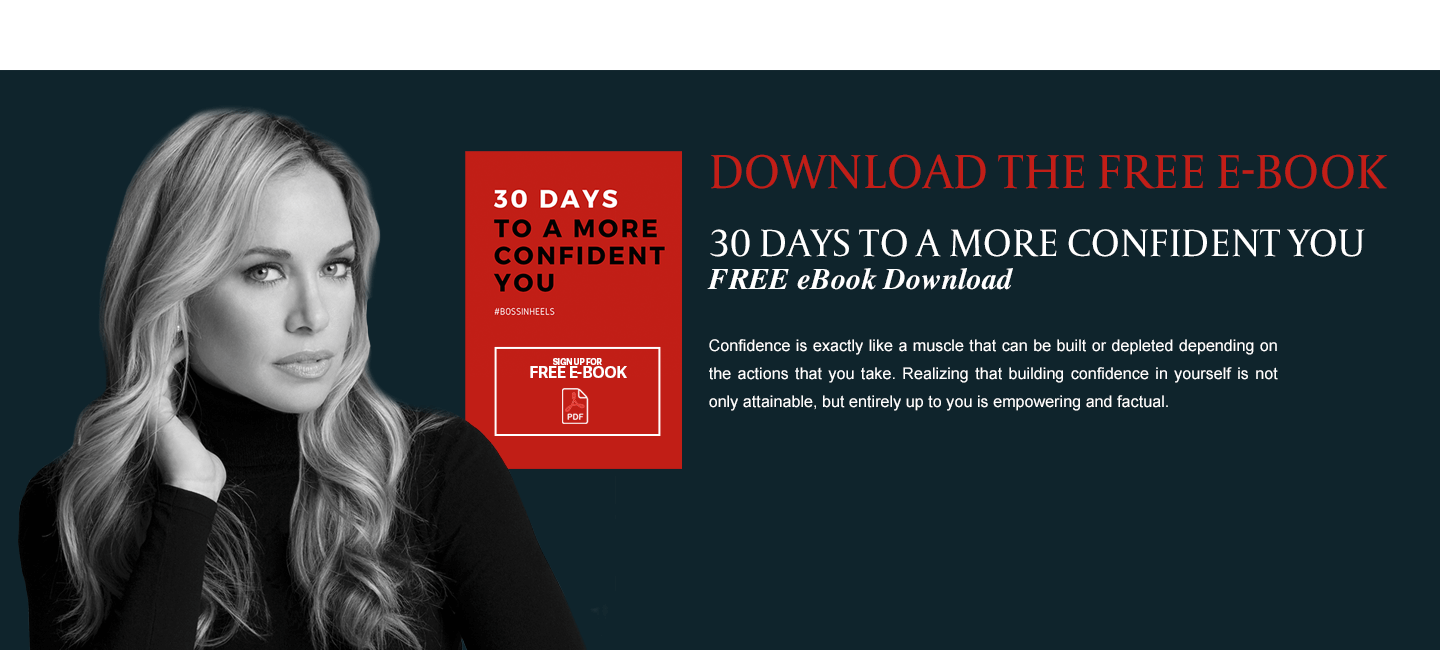 30 days to a more confident you FREE eBook Download