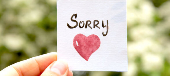 Why Always Saying Sorry Can Be Counterproductive